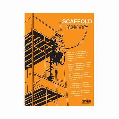 Safety Scaffold Poster Informational Osha Training Standard