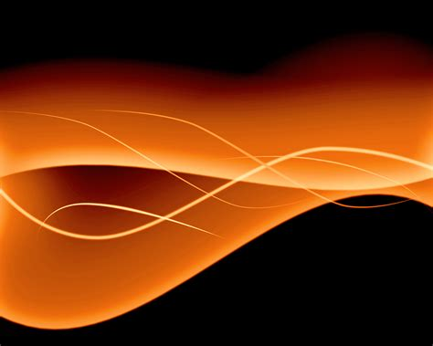 Abstract Orange Shapes by Orange Computer Wallpapers Desktop Backgrounds
