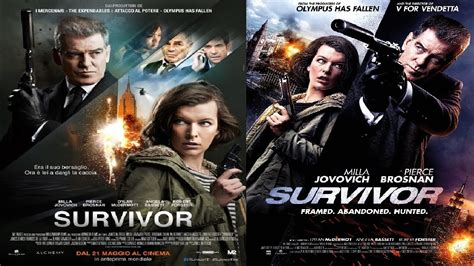 Survivor Movie (2015) Best Scenes Ft Pierce Brosnan, Milla