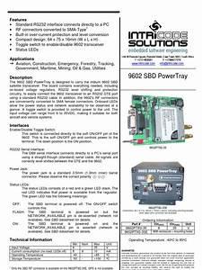 9602 Sbd Powertray