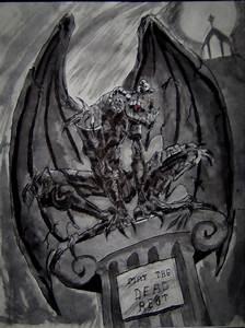 Gargoyle by tallbanshee on DeviantArt