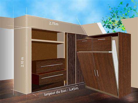 chambre complete adulte meuble de rangement armoire et dressing sur mesure petit