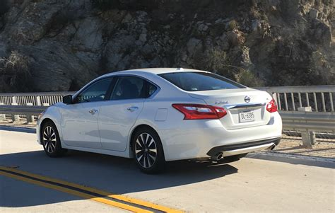 2016 Nissan Altima by 2016 Nissan Altima Sl Review Us Drive Caradvice