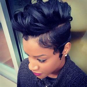 32 best images about Short natural hair blowout ideas on ...