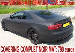 Peinture Noir Mat : peinture voiture gris mat voiture noire mat voiture ~ Carolinahurricanesstore.com Idées de Décoration