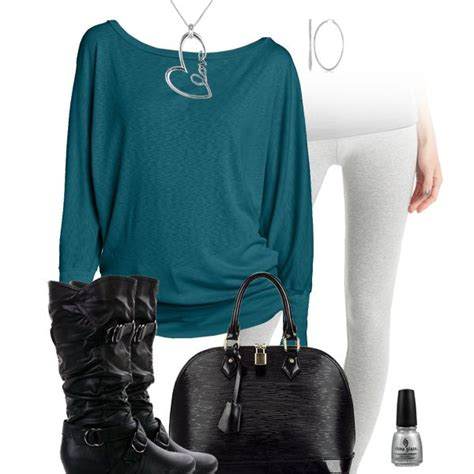 Teal Top u0026 Leggings Outfit | Philadelphia Eagles Fashion Style Fan Gear | Pinterest | Teal ...