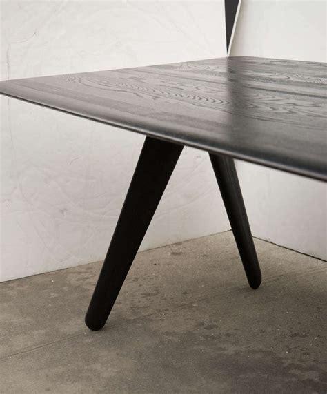 Tom Dixon Modernist Wood Slab Dining Table  Desk at 1stdibs