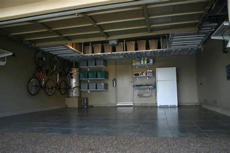 overhead garage storage smart solution to build