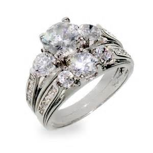 past present future engagement ring designer inspired past present and future wedding cz ring set 39 s addiction