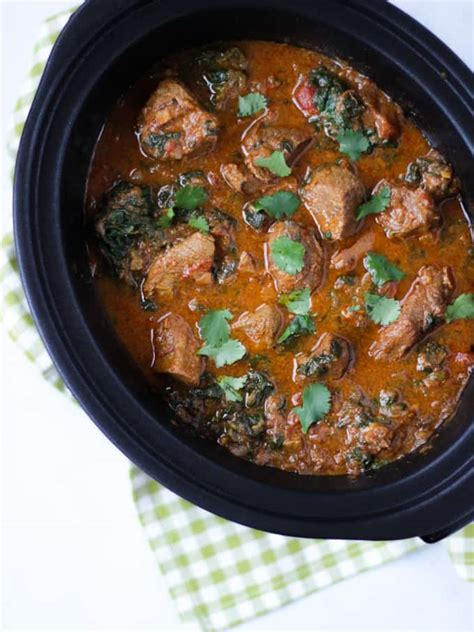 slow cooker curry beef recipe easy dish healthy morning night perfect spinach delicious fakeaway throw favourite hi oh friday