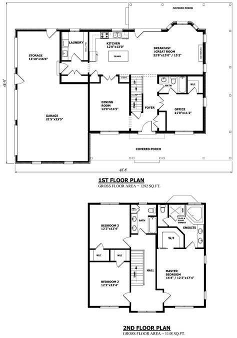 Floor Plans For 1 Story Homes by This Plan Two Story House Plans In 2019 Two