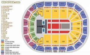 Manchester Arena Seating Plan