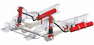 Ford 450  550 Front Axle Suspension System For Ems