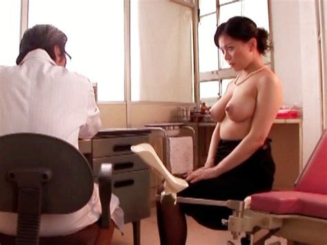 Miki Sato Rubs Her Big Breasts And Gets Fingered At