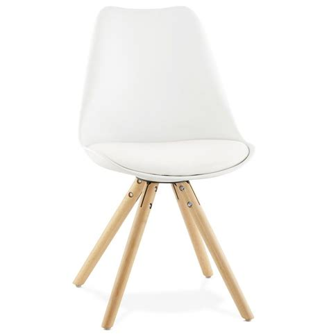 chaise coque blanche chaise design scandinave coque blanche chantal