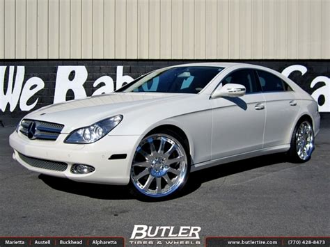 Mercedes Cls With 21in Carlsson 2 11 Wheels Exclusively