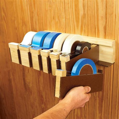 wood project planner wall tape dispenser woodworking plan shop project plan wood store ideas pinterest wood