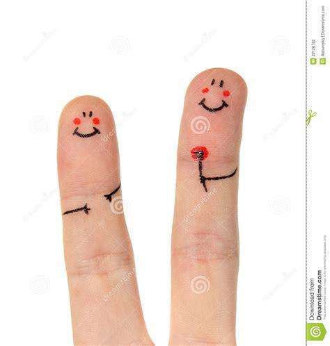 happy finger stock photo image  isolated greeting