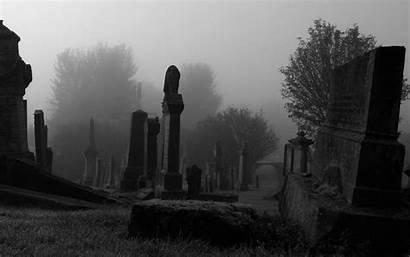 Spooky Cemetery Mac Allmacwallpaper