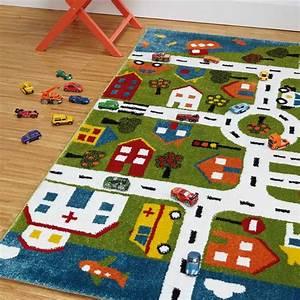 Tapis Sous Piscine : tapis d 39 enfant moderne motif carte de ville 100 x 150 cm ~ Melissatoandfro.com Idées de Décoration