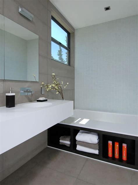 bathroom cabinet recessed in wall