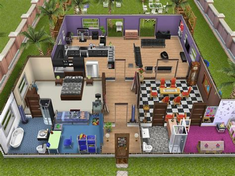 HD wallpapers play modern living room escape