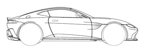 Do These Patent Drawings Show The New 2018 Aston Martin
