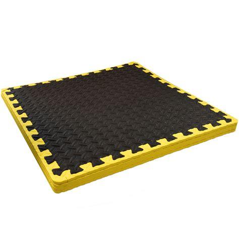 interlocking floor mat soft rubber foam tiles exercise play area ebay
