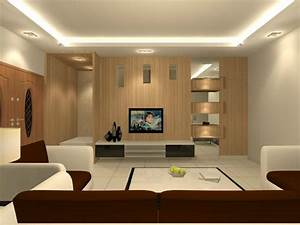 Living hall interior design residential living and for Interior decoration of living hall