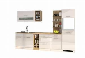 Küchenzeile Ohne Spüle : k chenzeile 300 cm einbauk che ohne elektroger te ~ Michelbontemps.com Haus und Dekorationen