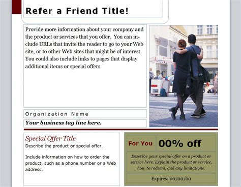 refer  friend coupon refer  friend coupon template