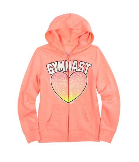 Justice Girls Glitter Sport Hoodie Sweatshirt | Girls Apparel | Free Shipping on All Domestic ...