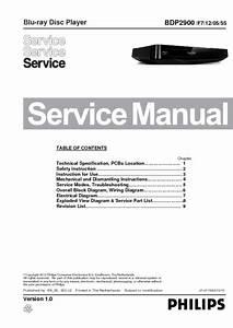 Philips Bdp2900  Service Manual  Repair Schematics