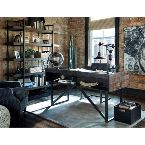 Rustic Industrial Interior Design Exles by Modern Rustic Industrial Bookcase With 5 Shelves By
