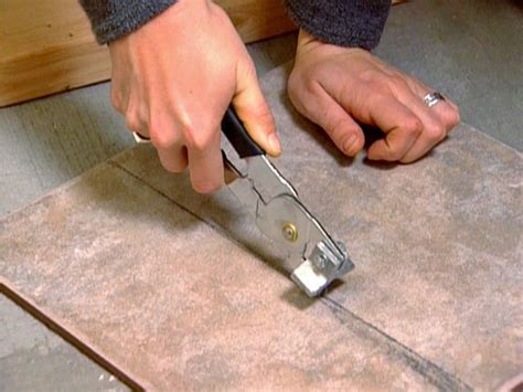 cutting tile how to install a tile bathroom floor how tos diy