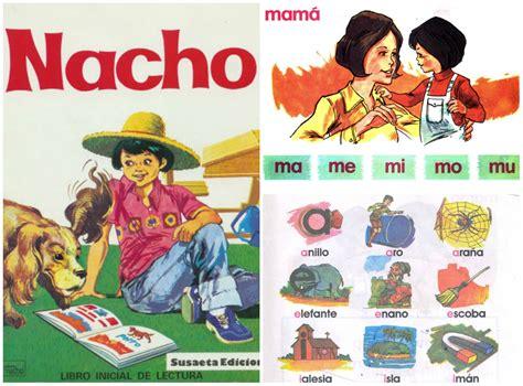 Nacho lee cartilla para aprender a leer libros de / this book allows the reader new facts and exp. ¿te trae recuerdos este libro? #nacho -> #honduras ...