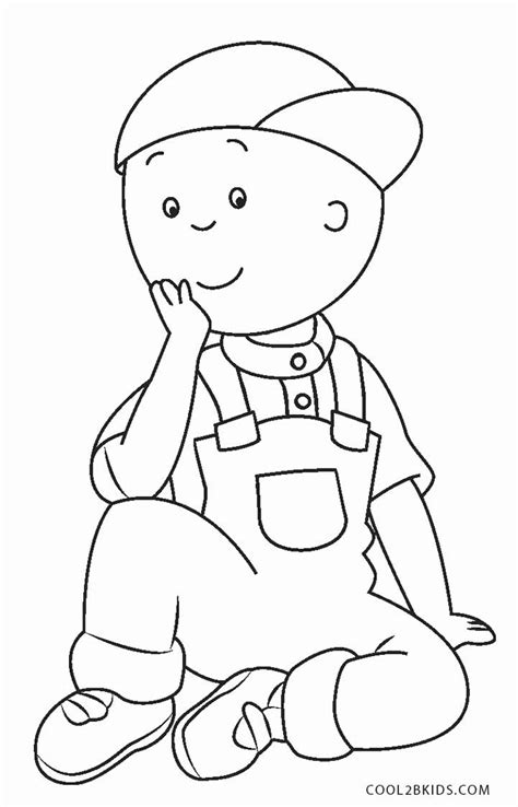 Caillou Printable Coloring Pages Free Printable Caillou Coloring Pages For Cool2bkids
