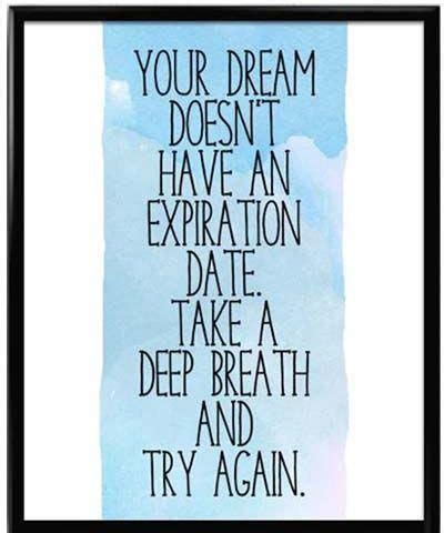 dream doesnt   expiration date   deep