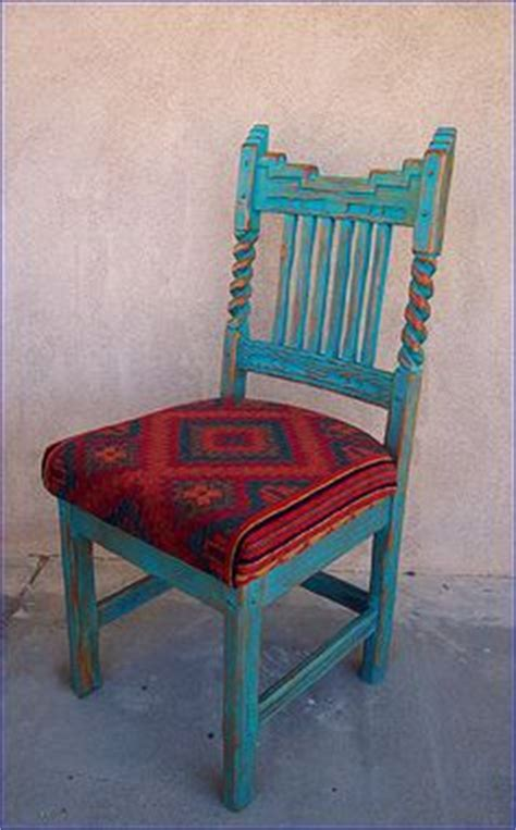 mexican painted furniture on chairs mexicans