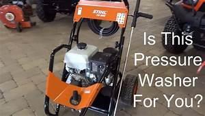 New Monster Pressure Washer - Stihl Rb800