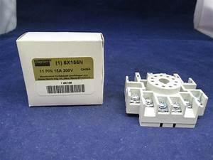 Dayton 6x156n Relay Socket New
