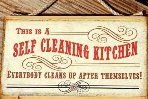 Office Kitchen Clean Up Signs by Self Cleaning Kitchen Office Space Growing