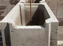 steine zum ausbetonieren betonsteine zum ausbetonieren mischungsverh 228 ltnis zement