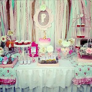 Shabby Chic Party Ideas - Moms & Munchkins