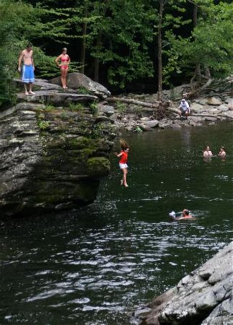 cliff jumping the sinks smoky mountains jumping in at the sinks picture of great smoky