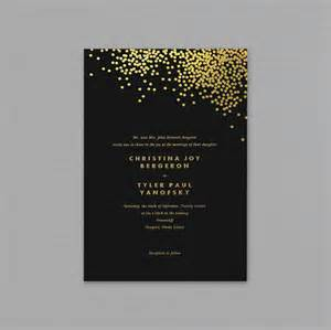 wedding program sle free black and gold wedding invitation templates wedding invitation ideas