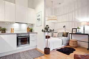 25 stylish design ideas for your studio flat the luxpad for Interior design ideas 1 room kitchen flat