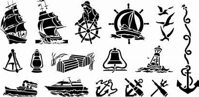 Nautical Vector Clip Clipart Cliparts Collections Ships