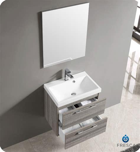 fresca fvn8506ma 24 quot wall mount matte modern bathroom