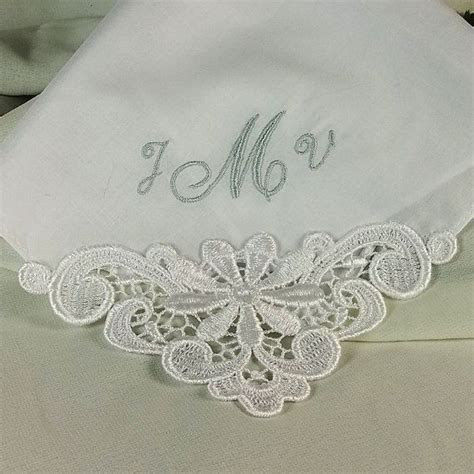 monogrammed handkerchiefs personalized handkerchiefs 19 best wedding handkerchiefs personalized at etsy images